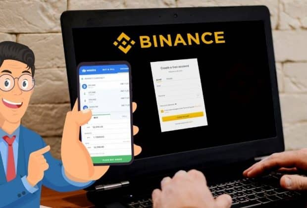 Connect Your Binance and WazirX Account
